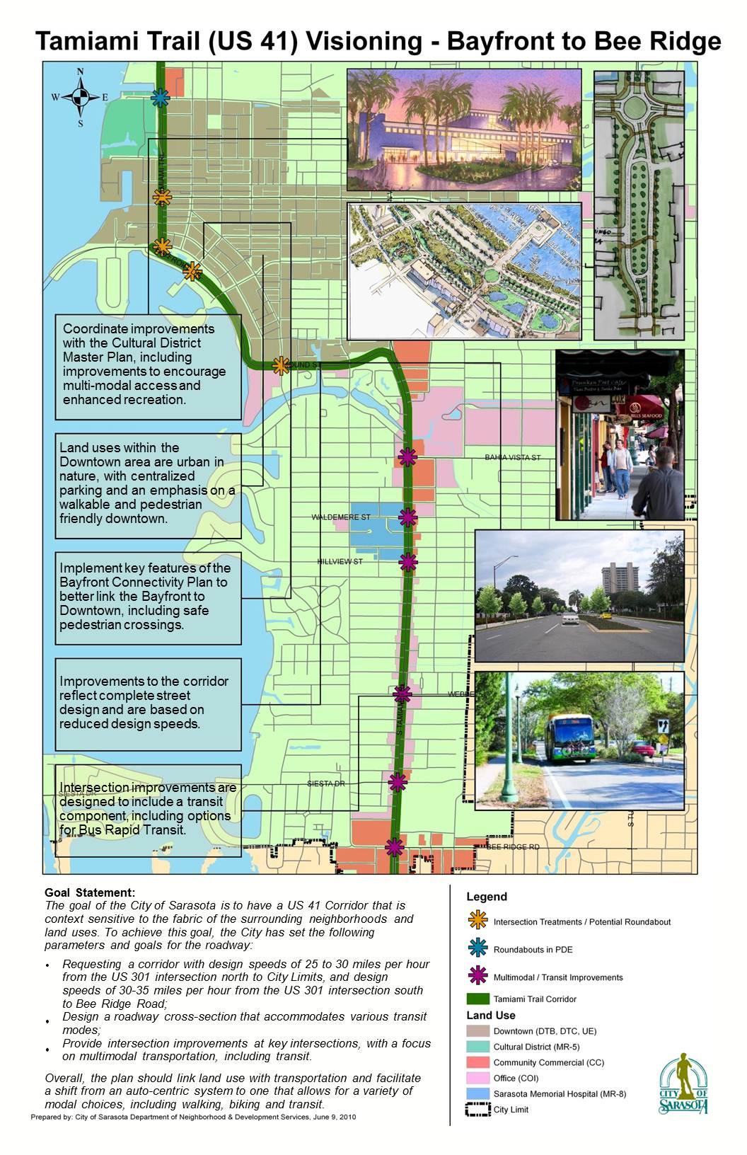 Bayfront US Multimodal Momentum - Us 41 map