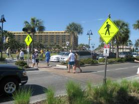 Clearwater Ped crossing
